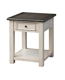 St. Claire One Drawer End Table, Quick Ship