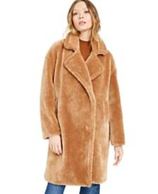 Michael Michael Kors Petite Faux-Fur Teddy Coat