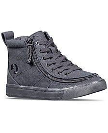 BILLY Little Boys Black to the Floor Classic Lace High Top Casual Sneakers from Finish Line