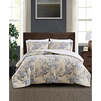 Deals on Pem America Darlene 2-Pc. Twin Comforter Set Twin