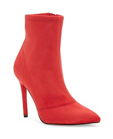 Jessica Simpson Lailra High Heel Stretch Booties