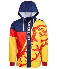 Men's Colorblocked Tiger Jacket