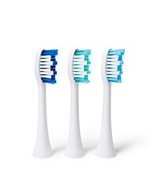 Elements Toothbrush Replacement Heads - 3 Pack