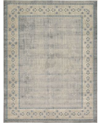Bellmere Bel1 Gray 4' x 6' Area Rug