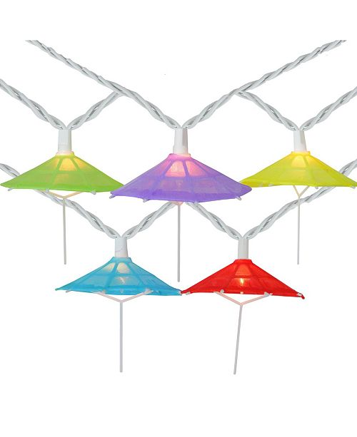 Northlight Multi-Color Umbrella Shaped Novelty String lights