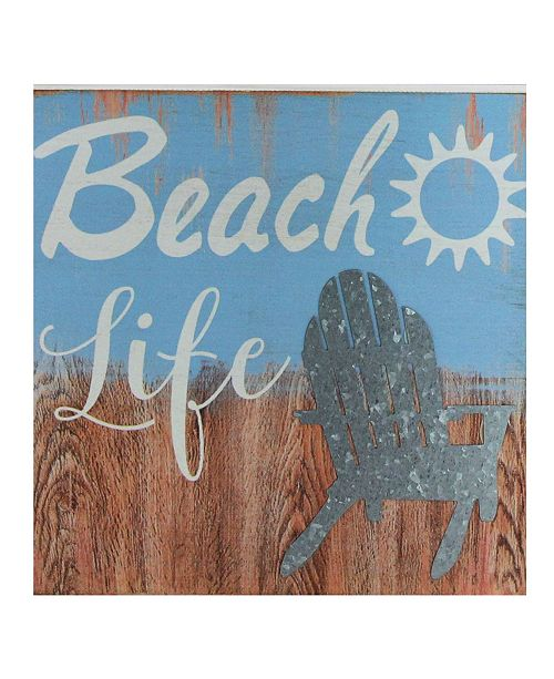 Northlight Decorative Life Distressed Wooden Wall Plague