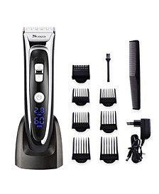 RFC-688B Professional Electric Men's Wireless Hair Clipper Kit