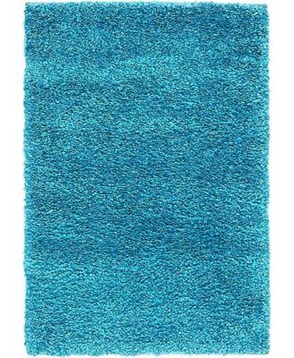 Uno Uno1 Turquoise 8' x 10' Area Rug