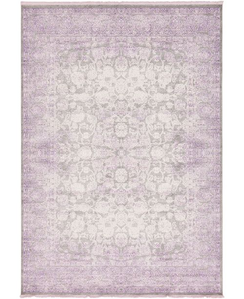 Bridgeport Home Norston Nor3 Purple Area Rug Collection