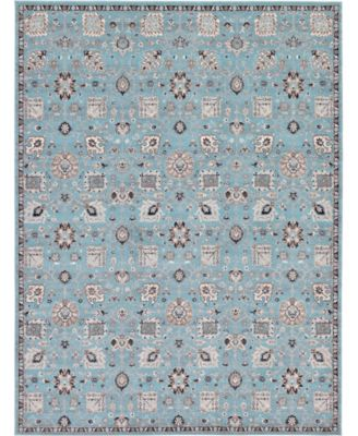 Wisdom Wis1 Light Blue 8' x 10' Area Rug