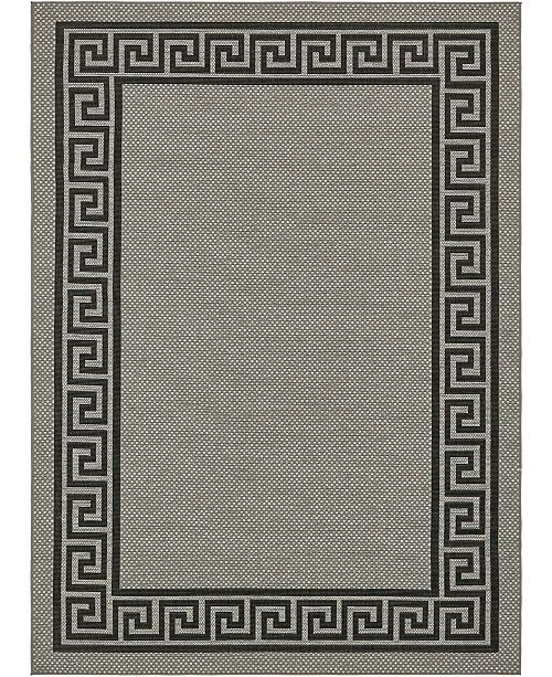 Bridgeport Home Pashio Pas6 Gray Area Rug Collection