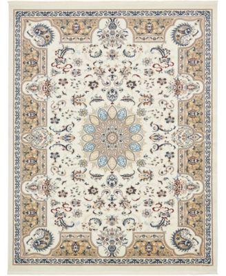 Zara Zar5 Ivory 5' x 8' Area Rug