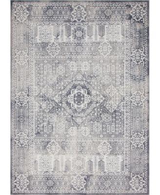 Zilla Zil3 Gray 10' x 14' Area Rug