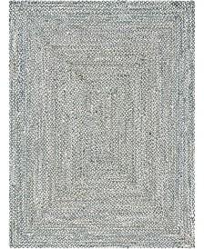 Bridgeport Home Roari Cotton Braids Rcb1 Gray Area Rug Collection