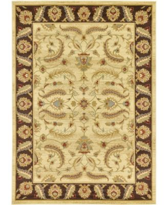Passage Psg1 Ivory 6' x 6' Square Area Rug