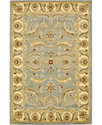 Passage Psg1 Light Blue 6' x 6' Round Area Rug