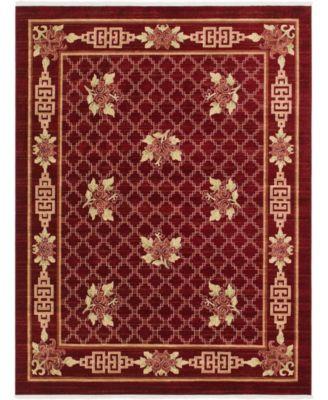 Sahil Sah5 Red 5' x 8' Area Rug