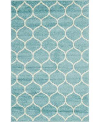Plexity Plx2 Light Blue 5' x 8' Area Rug