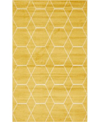 Plexity Plx1 Yellow 8' x 10' Area Rug