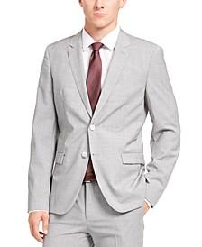HUGO Men's Extra-Slim-Fit Sharkskin Wool Suit Jacket Separate