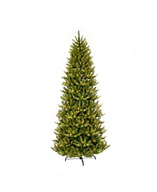 International 10 ft Pre-lit Slim Franklin Fir Artificial Christmas Tree 900 UL listed Clear Lights
