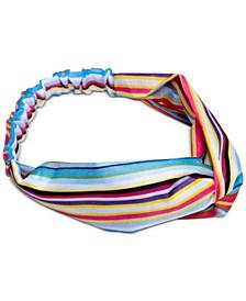 Bright Stripes Top Knot Soft Headband