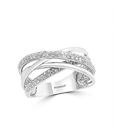Pave Classica By EFFY Diamond (3/8 ct. t.w.) Ring in 14k White Gold