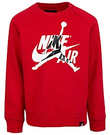 Little Boys Jumpman Classics Fleece Sweatshirt