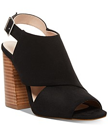 Caroline Flare-Heel City Sandals