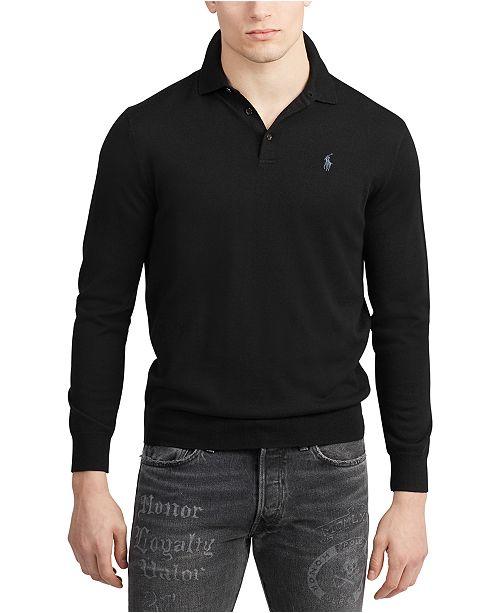 Polo Ralph Lauren Men's Merino Wool Polo Sweater