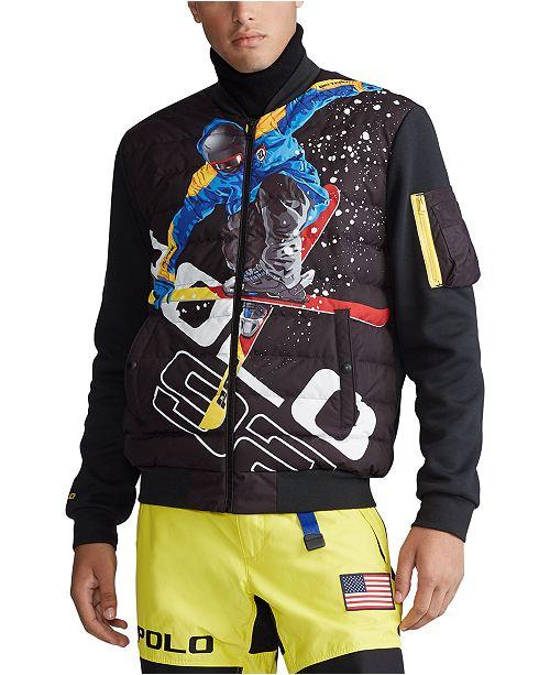 Polo Ralph Lauren Men's Double-Knit Tech Jacket