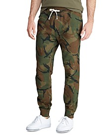 Men's Camo Fleece Jogger Pants