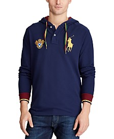 Polo Ralph Lauren Men's Long Sleeve Mesh Hooded Shirt