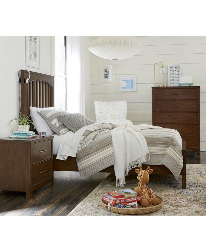 Furniture Ashford Bedroom Furniture, 3-Pc. Set (Twin Bed, Nightstand & Chest) & Reviews - Furniture - Macy's