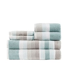 Montauk 100% Cotton 6-Pc. Towel Set