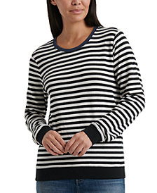 Lucky Brand Striped Sweatshirt