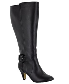 Troy II Wide Calf Tall Dress Boots