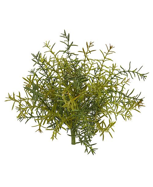 """Nearly Natural 11"""" Rosemary Artificial Plant, Set of 6"""