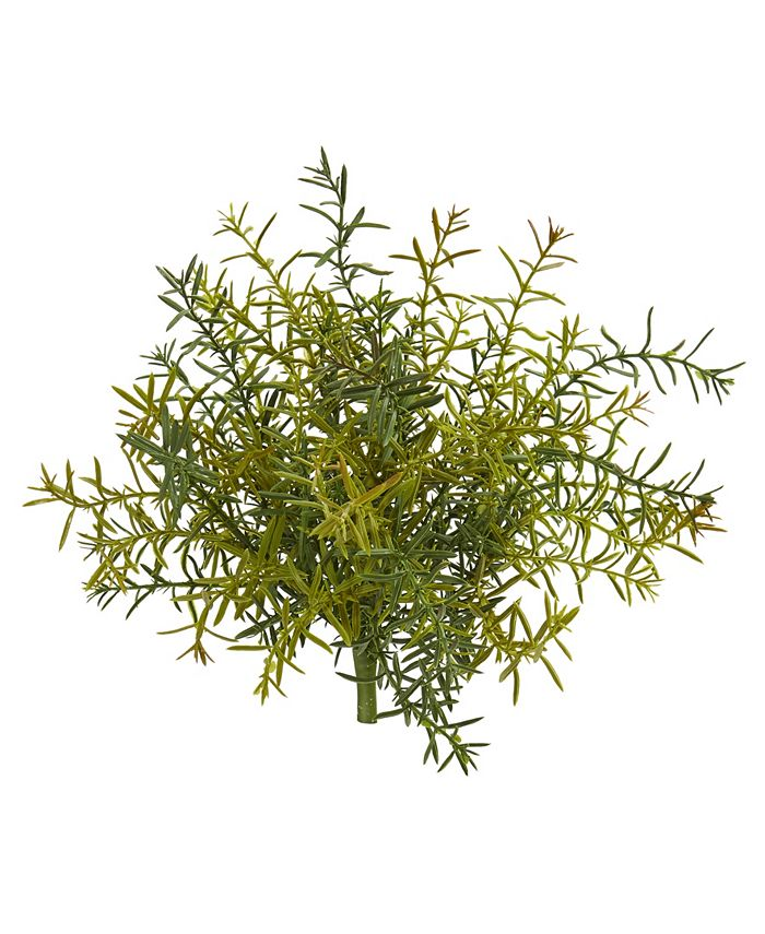 """Nearly Natural - 11"""" Rosemary Artificial Plant, Set of 6"""
