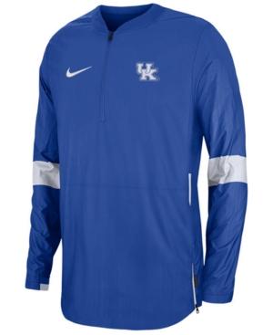 Nike Men's Kentucky Wildcats Lightweight Coaches Jacket