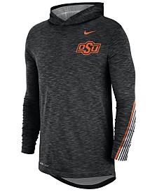 Nike Men's Oklahoma State Cowboys Hooded Sideline Long Sleeve T-Shirt