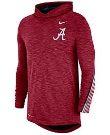 Men's Alabama Crimson Tide Hooded Sideline Long Sleeve T-Shirt