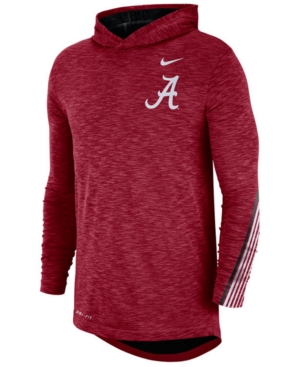 Nike Men's Alabama Crimson Tide Hooded Sideline Long Sleeve T-Shirt