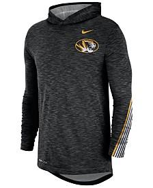 Nike Men's Missouri Tigers Hooded Sideline Long Sleeve T-Shirt