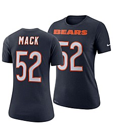 Women's Khalil Mack Chicago Bears Player Pride T-Shirt