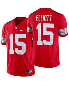Men's Ezekiel Elliott Ohio State Buckeyes Player Game Jersey