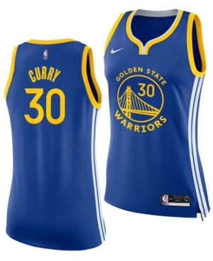 Nike Women's Stephen Curry Golden State Warriors Swingman Jersey