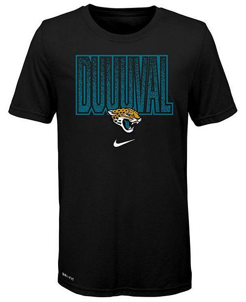 Nike Big Boys Jacksonville Jaguars Local Verbiage T-Shirt