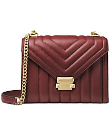 Whitney Quilted Leather Shoulder Bag