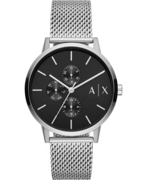 Men's Cayde Stainless Steel Mesh Bracelet Watch 42mm